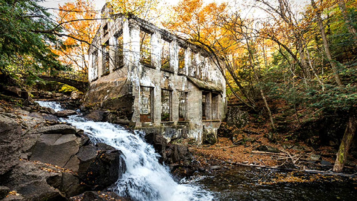 You Can Explore This Abandoned Ruin Near Toronto That Was Once A Mad Scientist's Workshop