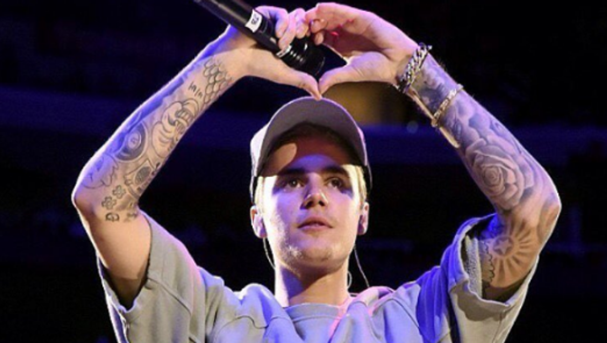 Justin Bieber Almost Gets Into A Fight During A Hockey Game