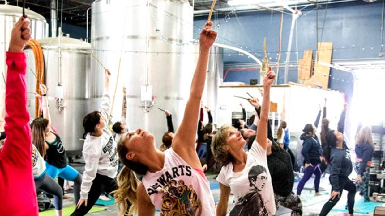 Harry Potter Yoga Actually Exists And It's Everything You Imagined It Would Be