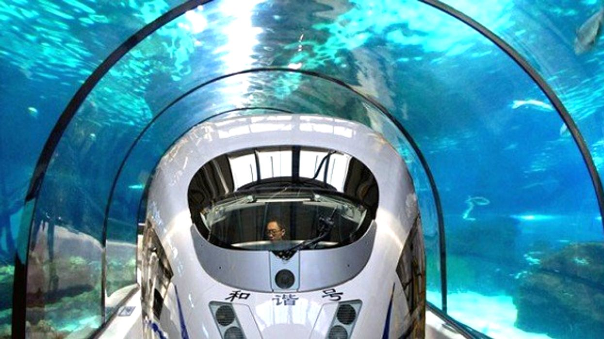 China Is Planning To Build A 13,000-km Underwater Train To Canada