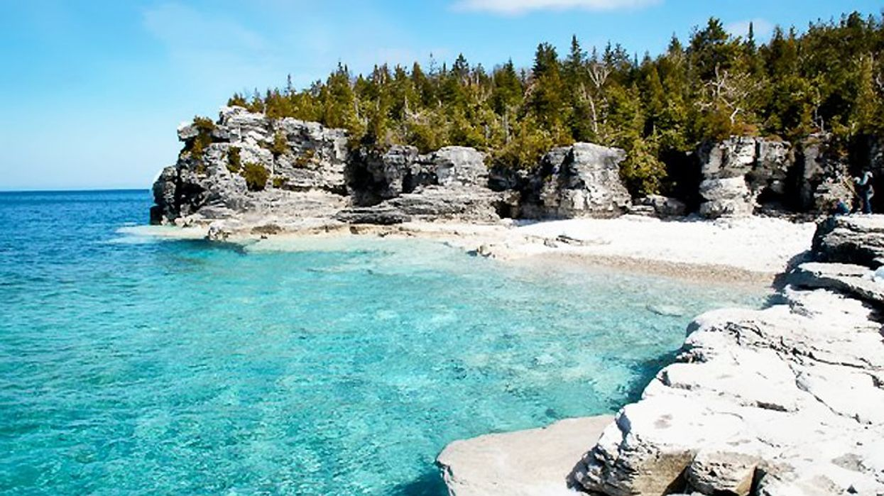Bruce Peninsula National Park In Ontario Is Ranked One Of The Best Parks In Canada