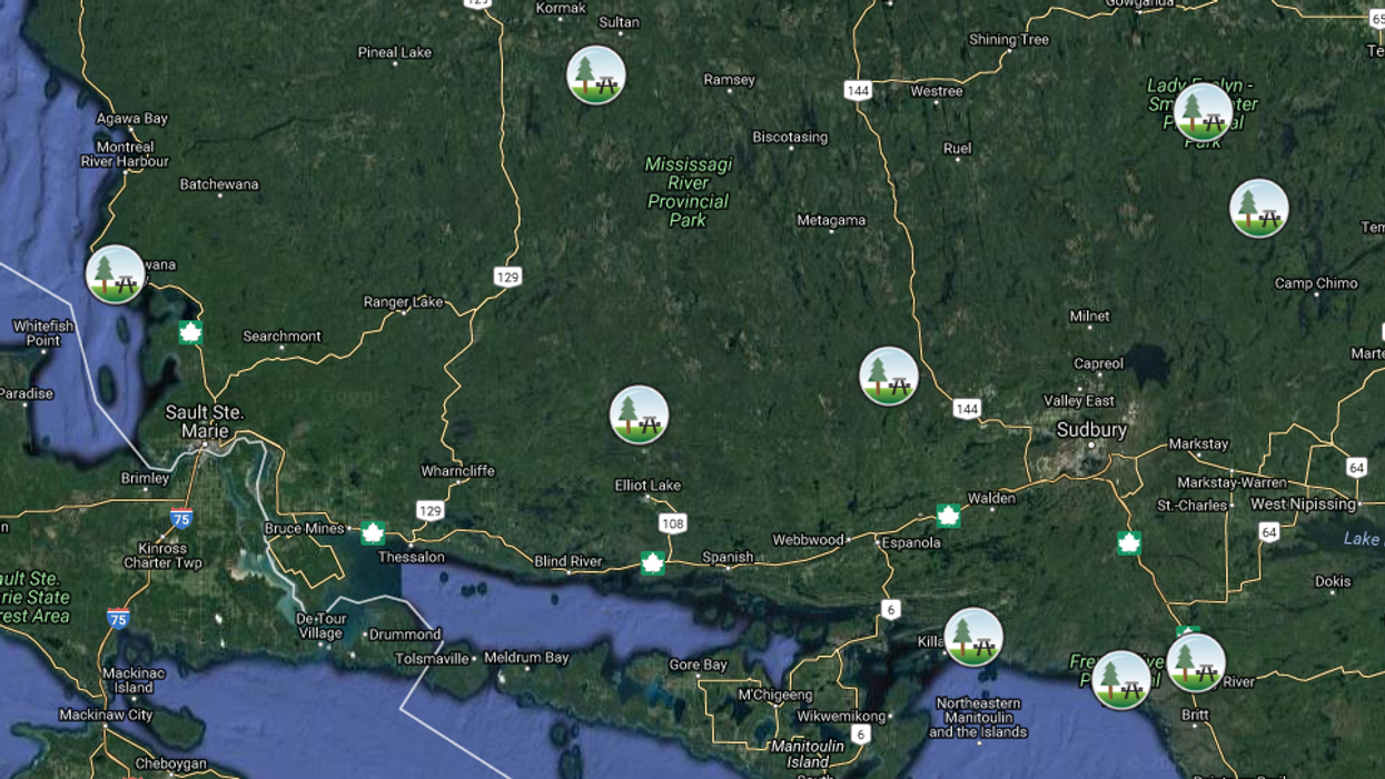This Map Shows You Where The Most Beautiful Provincial Parks Are In Northern Ontario