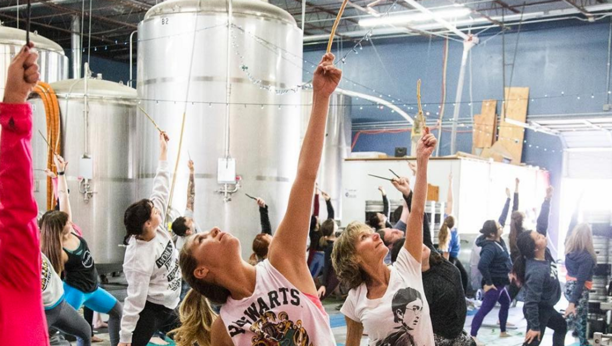 Harry Potter Yoga Is Totally A Thing In Toronto So Grab Your Wands