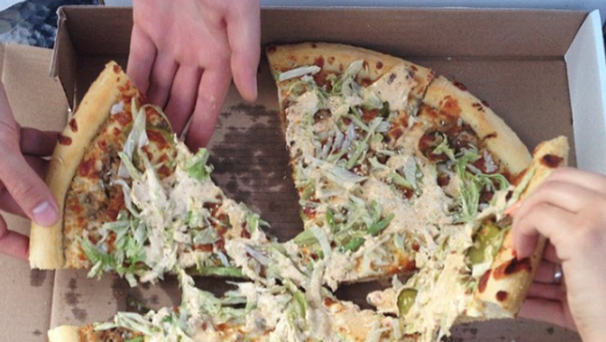 Big Mac Pizza Is A Thing In Toronto So You'll Never Have To Choose Again