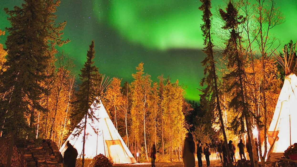 You Can Camp Under The Northern Lights In A Tipi At This Amazing Park In Ontario