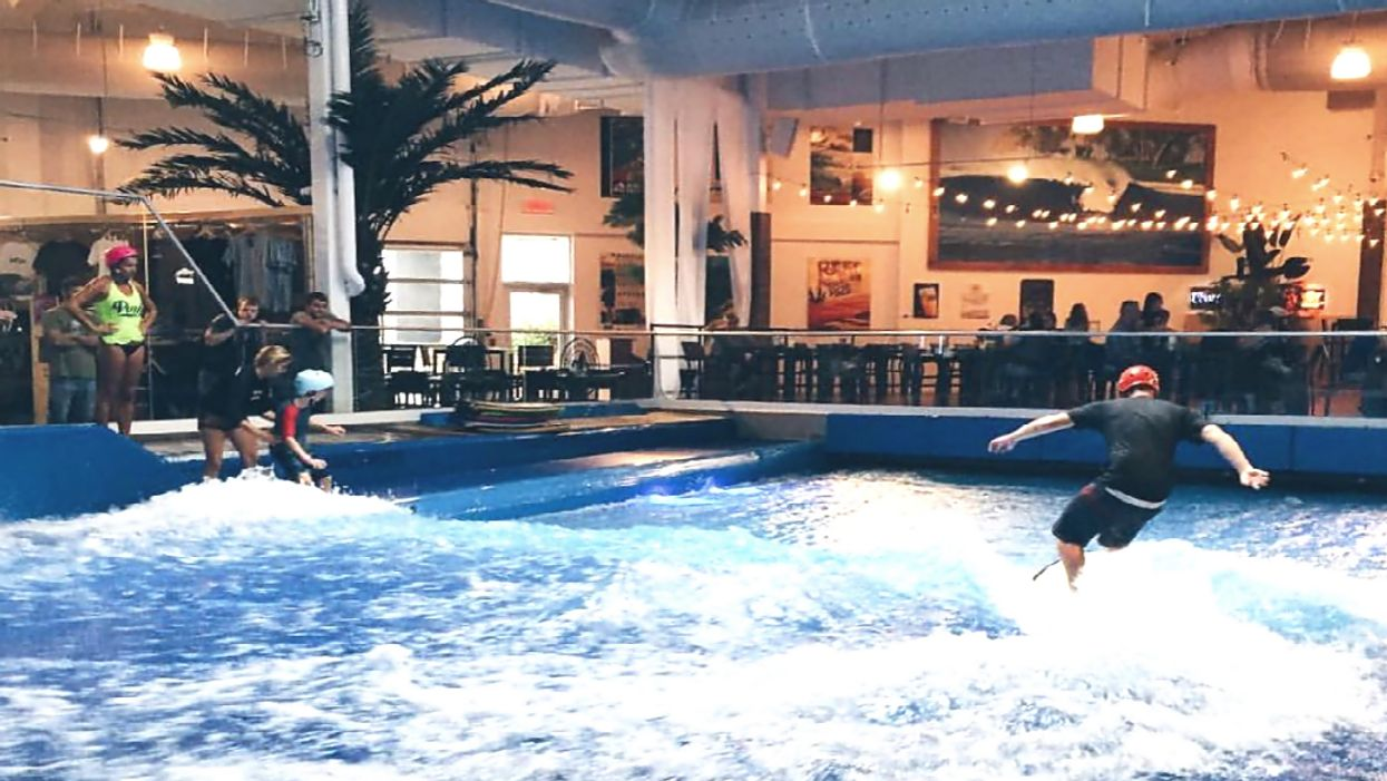 You Can Go Surfing Indoors At This Unique Restaurant A Few Hours Away From Toronto