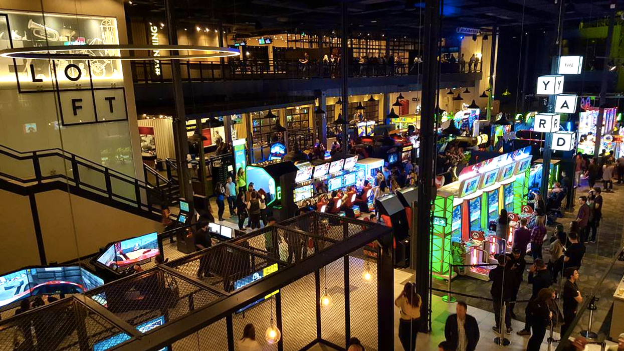 Cineplex Is Opening The Ultimate Adult Playground In Toronto And Yes There Is A Bar