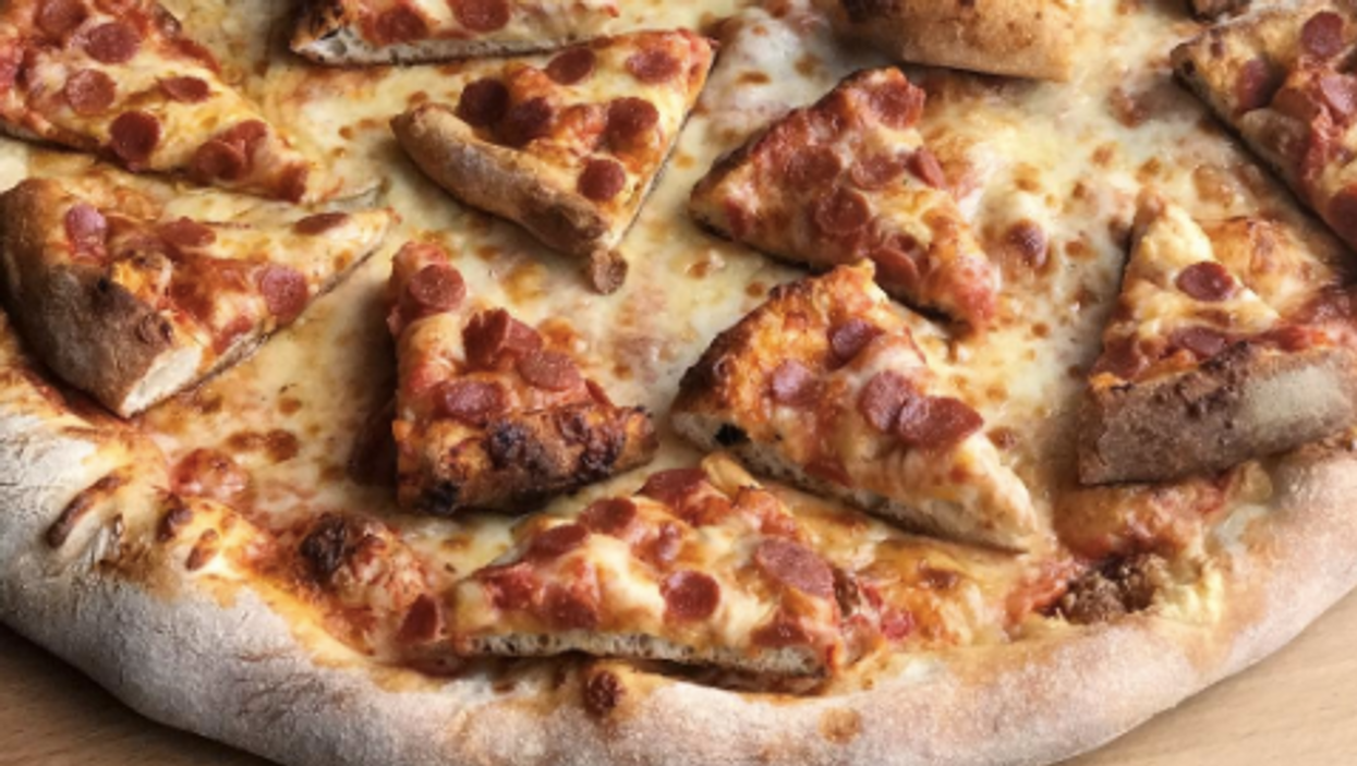 You Can Get A Pizza With More Pizza On It In Toronto
