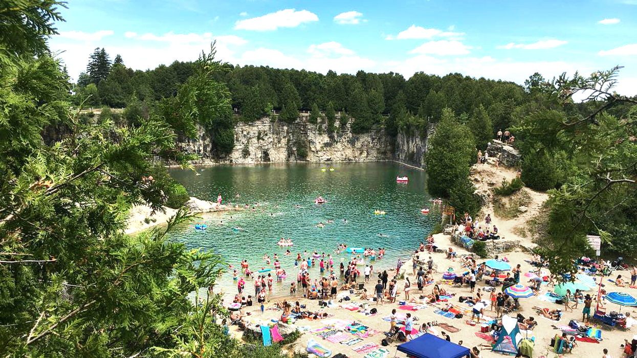 This Beautiful Swimming Hole Is A Little Pocket Of Paradise In Ontario
