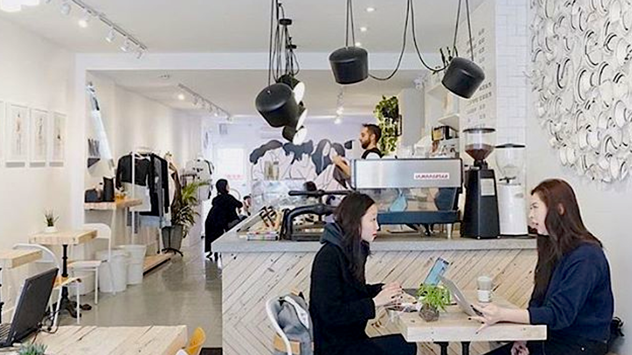 This Adorable Toronto Coffee Shop Doubles As A Boutique And Art Gallery