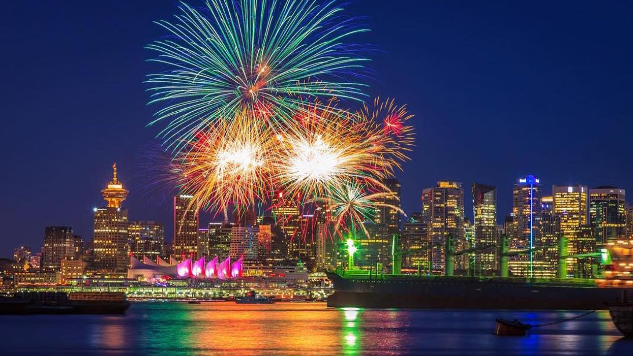 5 Great Places To Watch The Fireworks In Vancouver This Canada Day