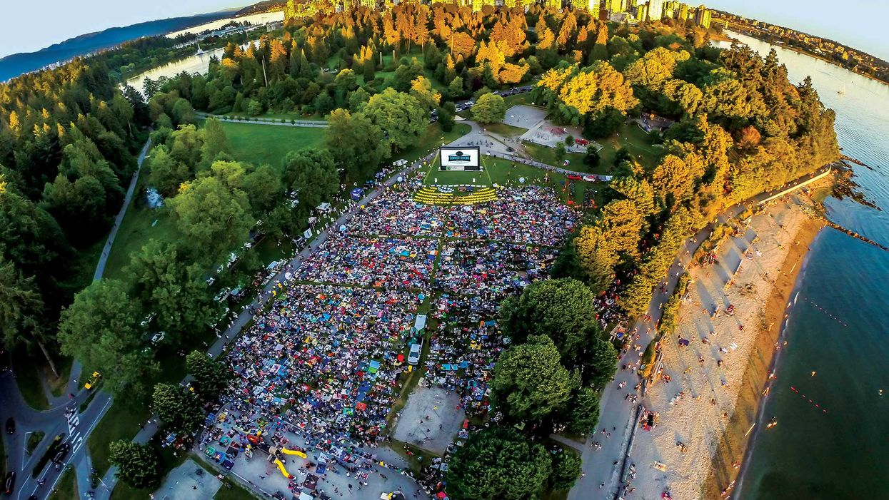 Here's The Schedule For Free Movies In Stanley Park This Summer
