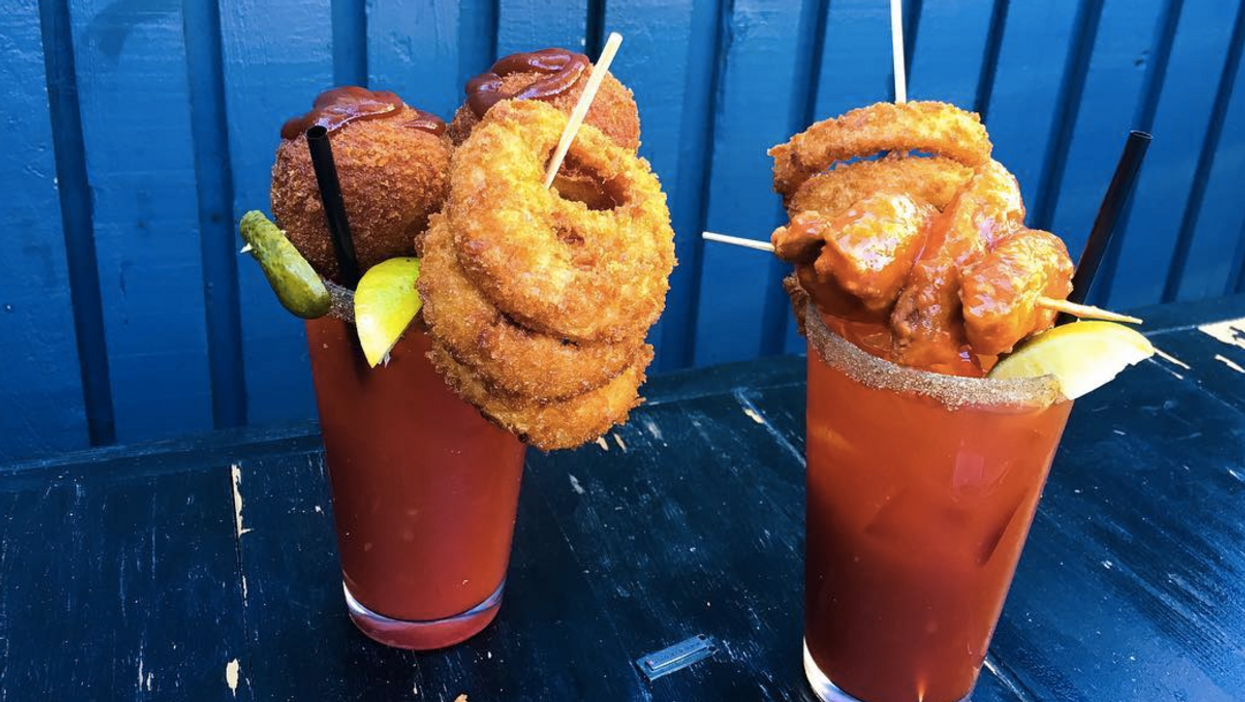 This Vancouver Bar Serves Ridiculous $60 Caesars That Put All Other Caesars To Shame