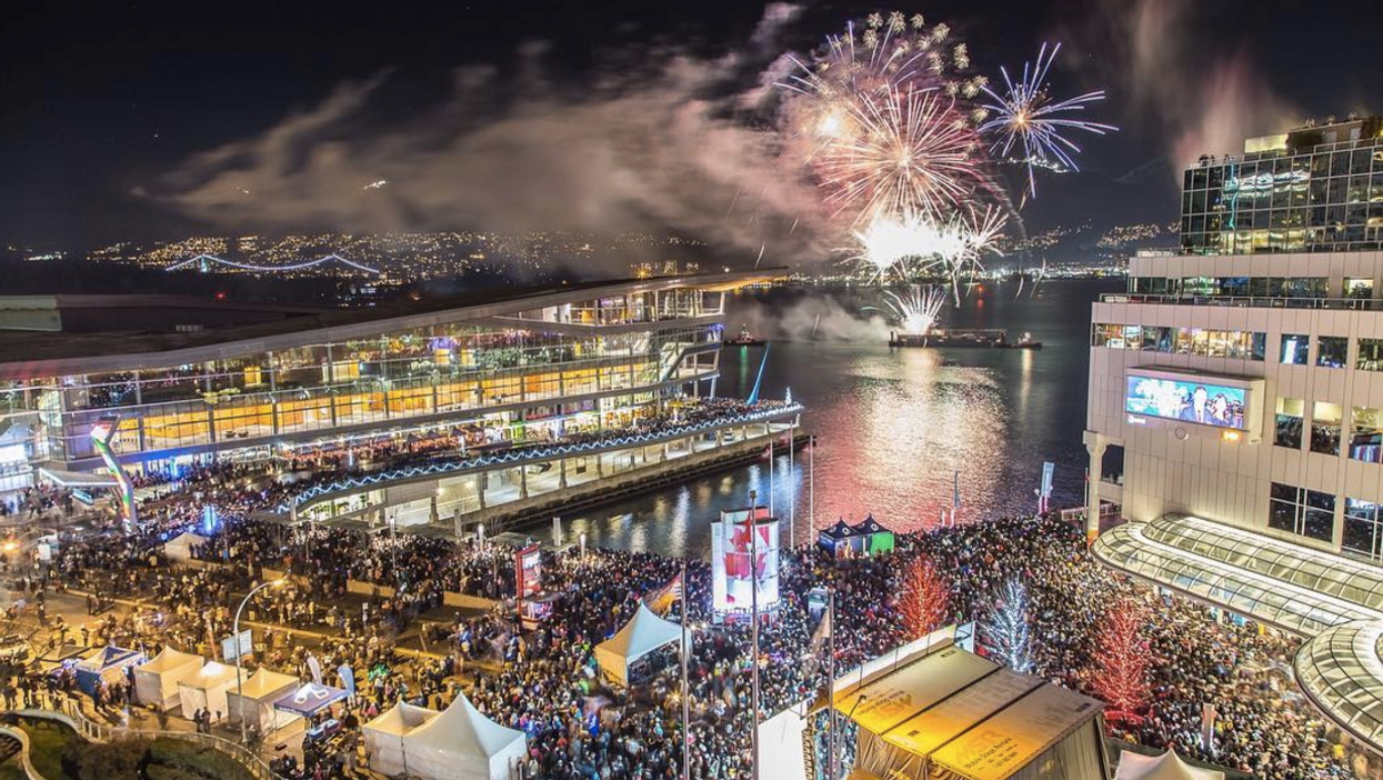 Vancouver New Year's Eve Celebration Aims To Be Largest In Canada