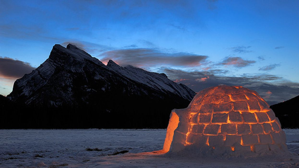 You Can Stay Overnight In An Igloo In BC