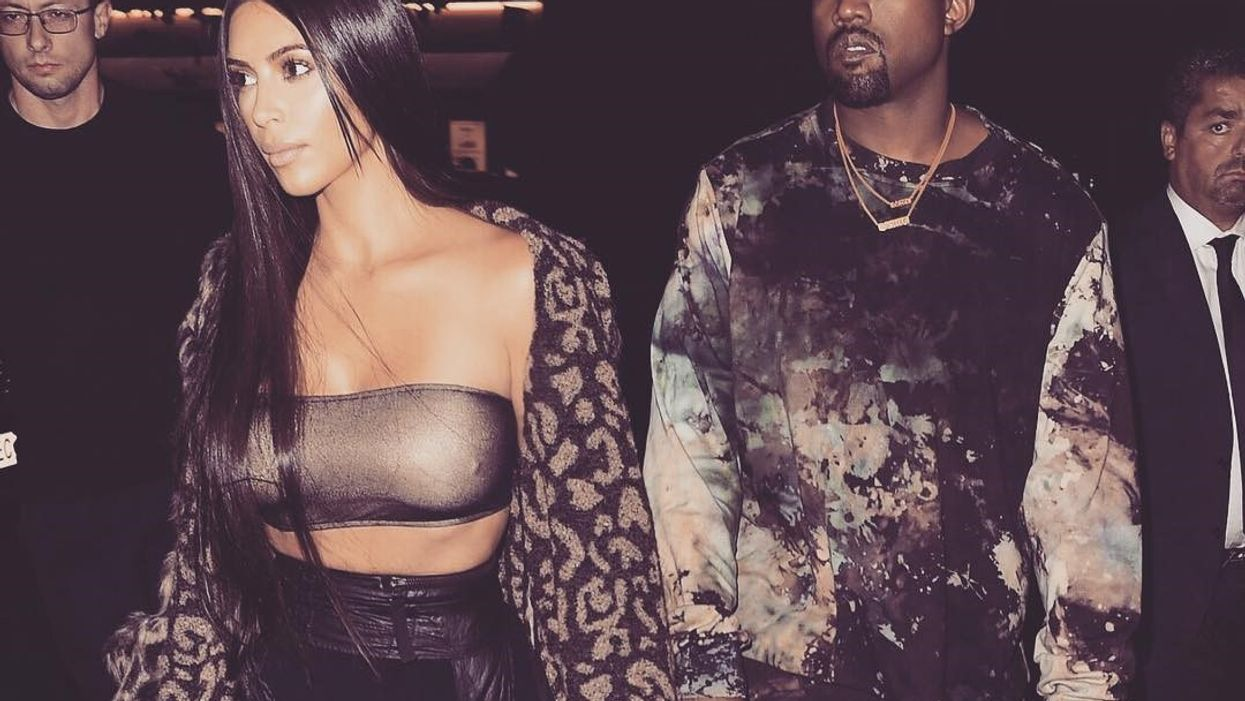 All The Pictures You Don't Want To See Of Kanye West At Vancouver's Rogers Arena