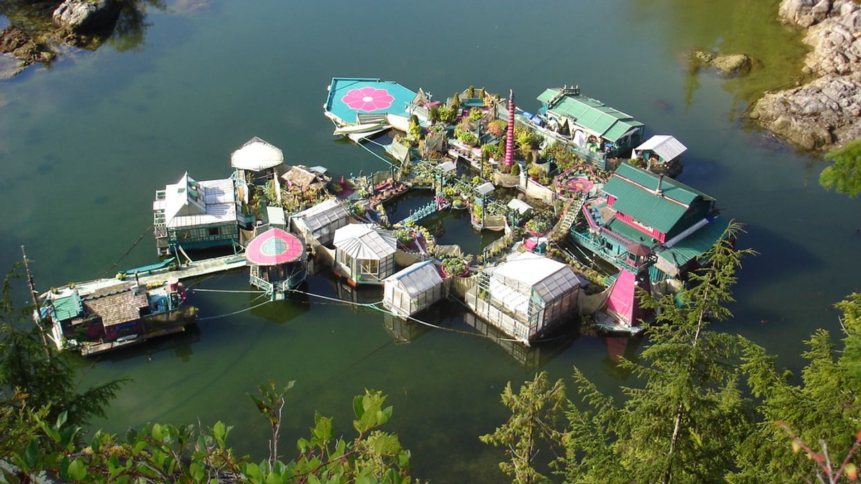 You Can Visit This Insane Man-Made Floating Island Home In BC