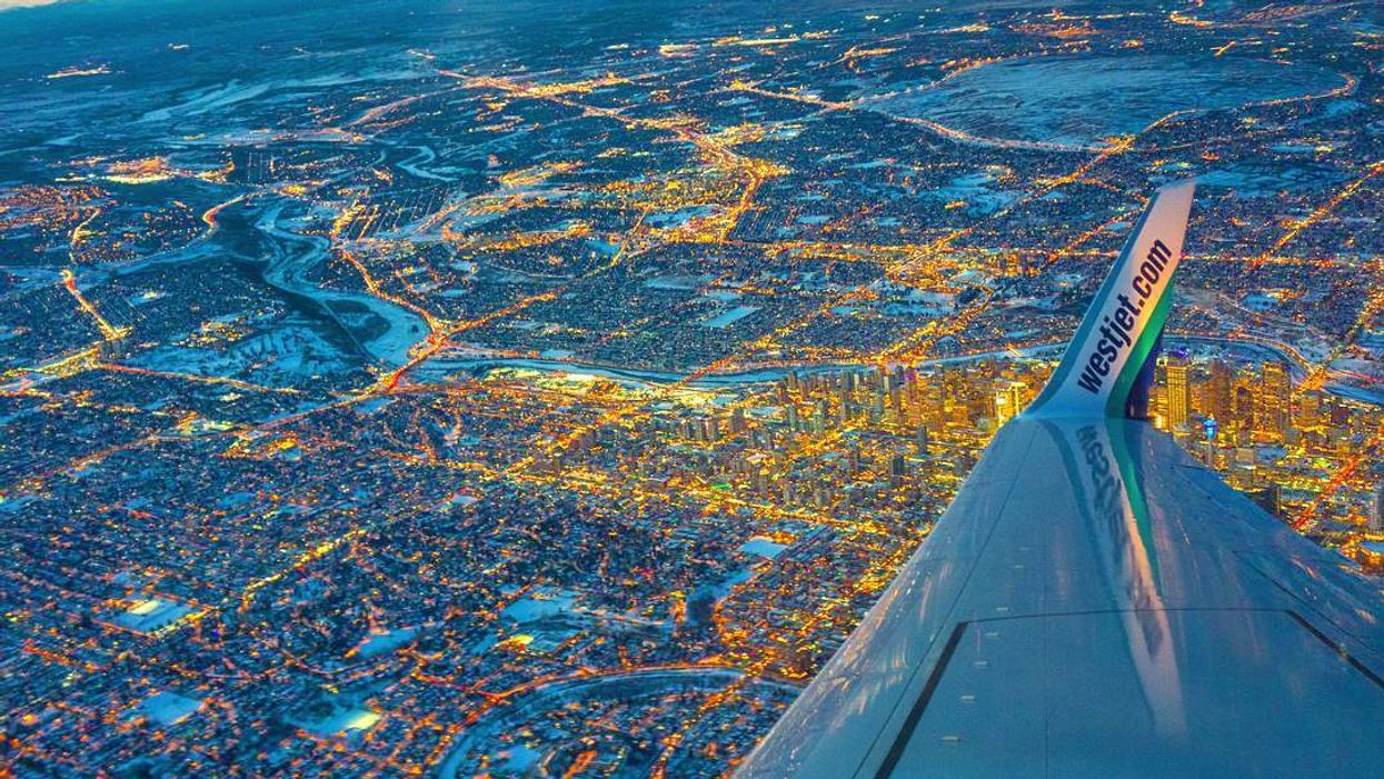 Here's What Different Canadian Cities Look Like From An Airplane
