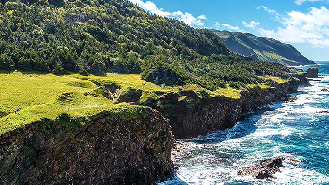 These Incredible Cliffs In Canada Will Make You Feel Like You're In Ireland