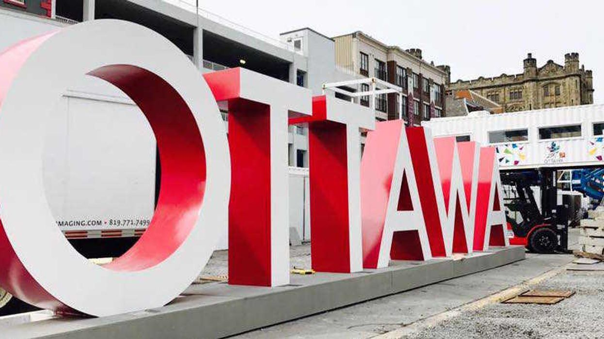 Huge Ottawa Letters Will Be Placed In The ByWard Market This Summer