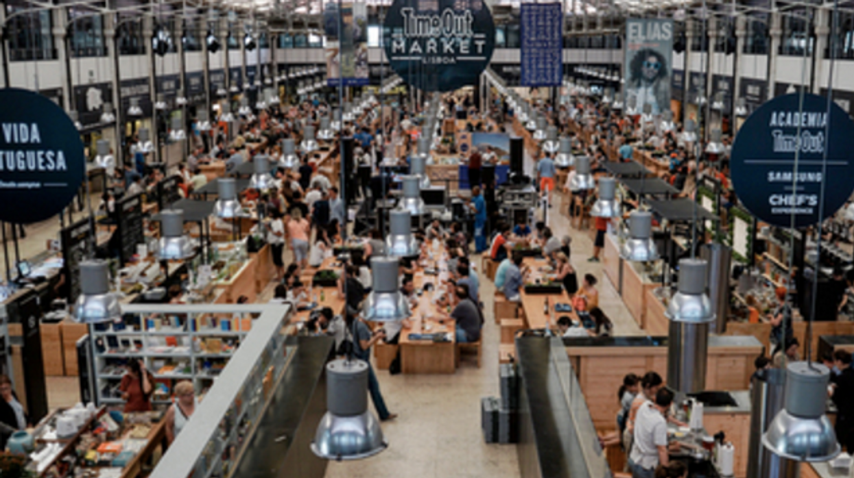 A Giant Food Hall Is Coming To Toronto And It Looks Insane