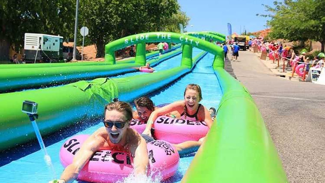 A 1,000 Foot Long Waterslide Is Coming To North Vancouver This Summer