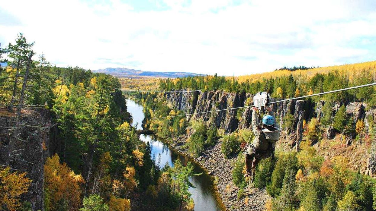 You Can Ride An Epic Zipline Across This Massive Canyon In Ontario