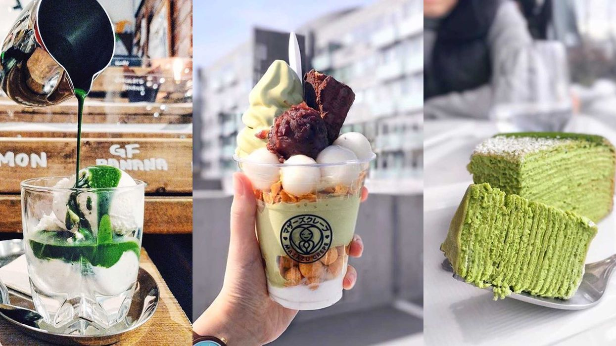 22 Bucket List Matcha Foods To Try In Vancouver If You Freaking Love Matcha
