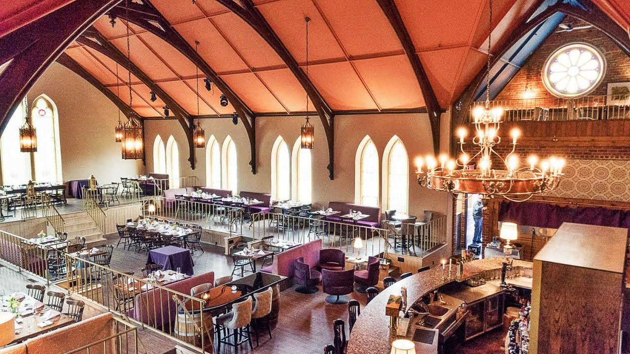 This Old Church In Ontario Was Transformed Into A Beautiful French Restaurant