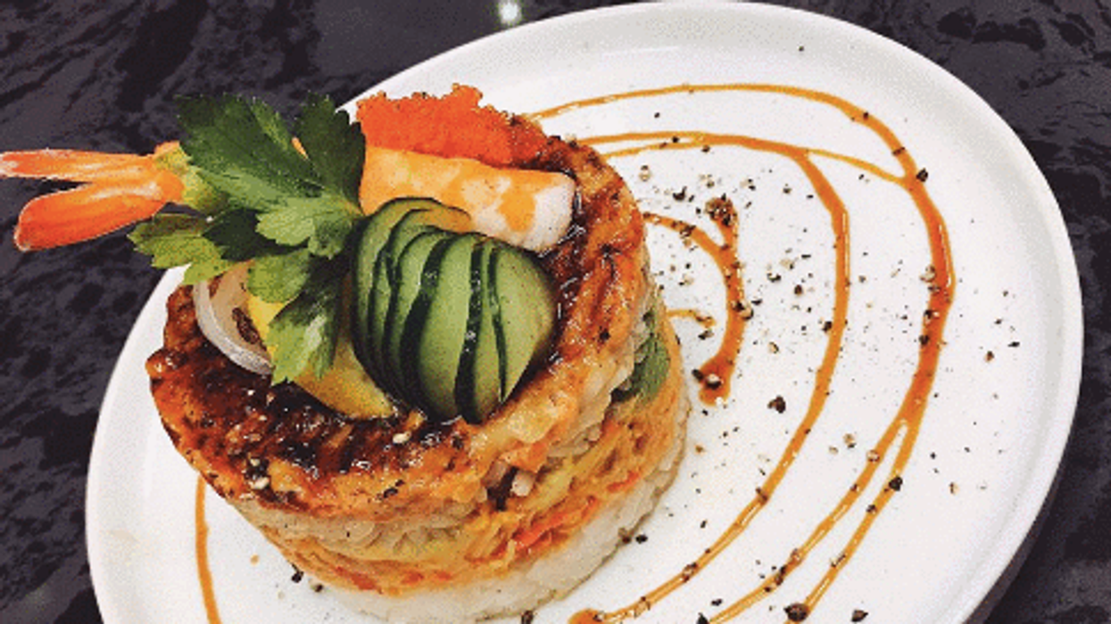 This Insane Toronto Cake Is Every Sushi Lover's Dream
