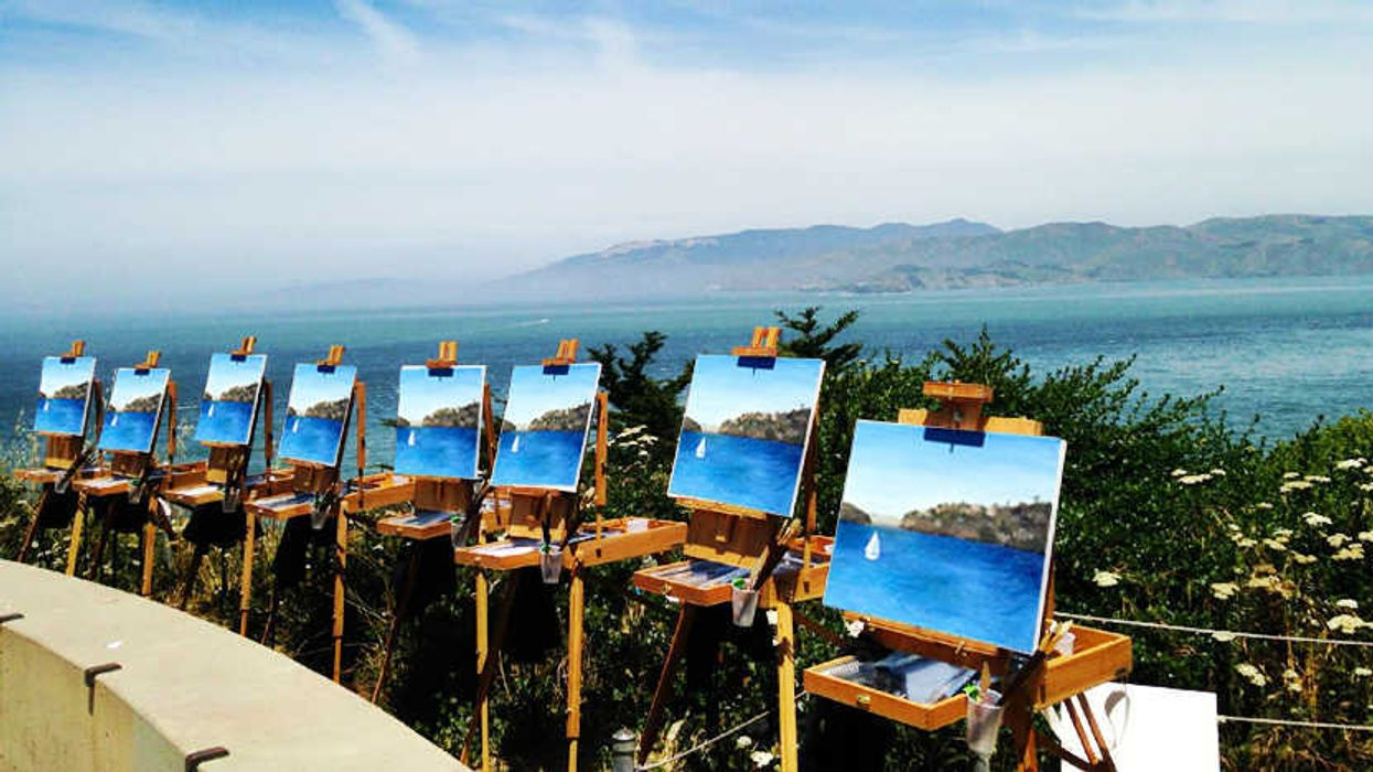 You Can Take A Painting Class Outdoors At This Ontario Town
