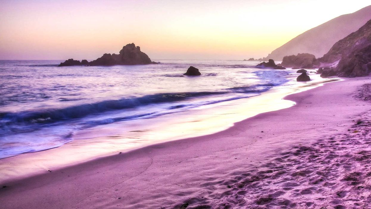 These Gorgeous Purple Sand Beaches Are Canada's Best Kept Secrets