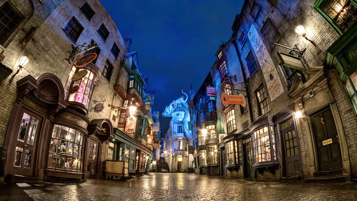 This Canadian Town Is Transforming Into Diagon Alley From Harry Potter