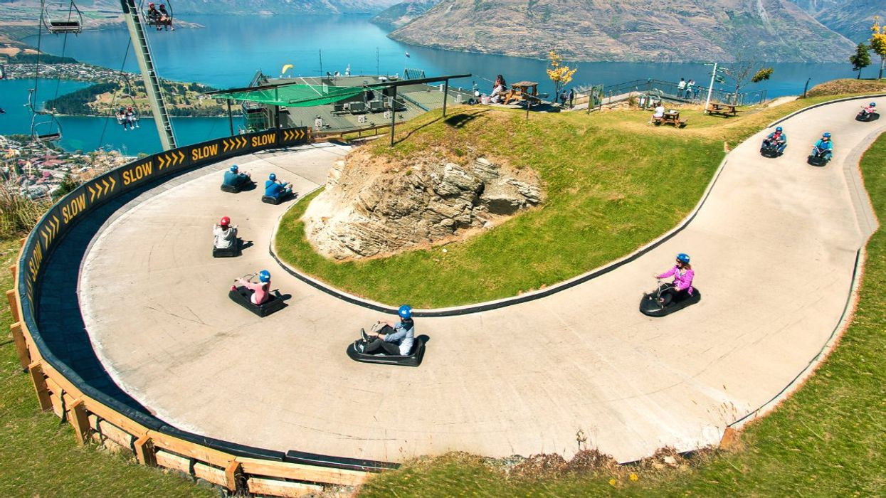 This Epic 1.4-km Racetrack In Canada Is Like Mario Kart In Real Life
