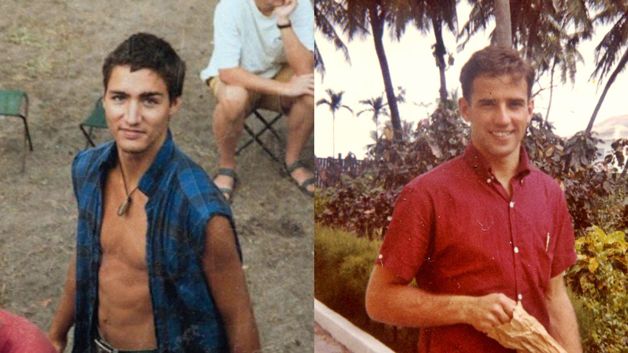 The People Have Spoken: Young Justin Trudeau Is Hotter Than Young Joe Biden
