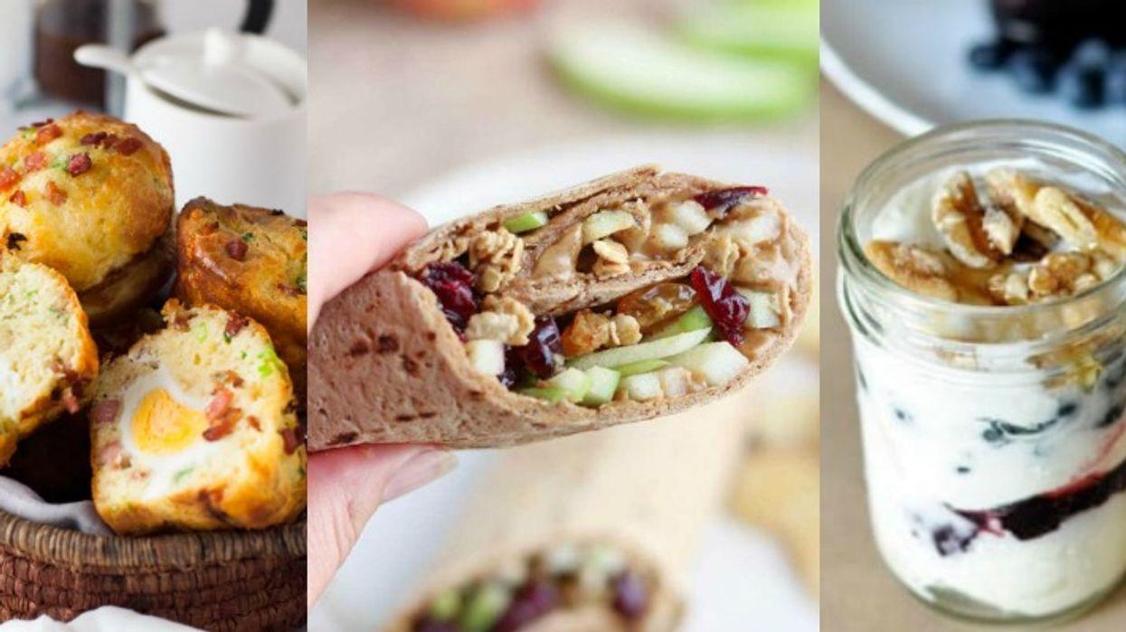 13 idées de déjeuners santé et faciles à emporter