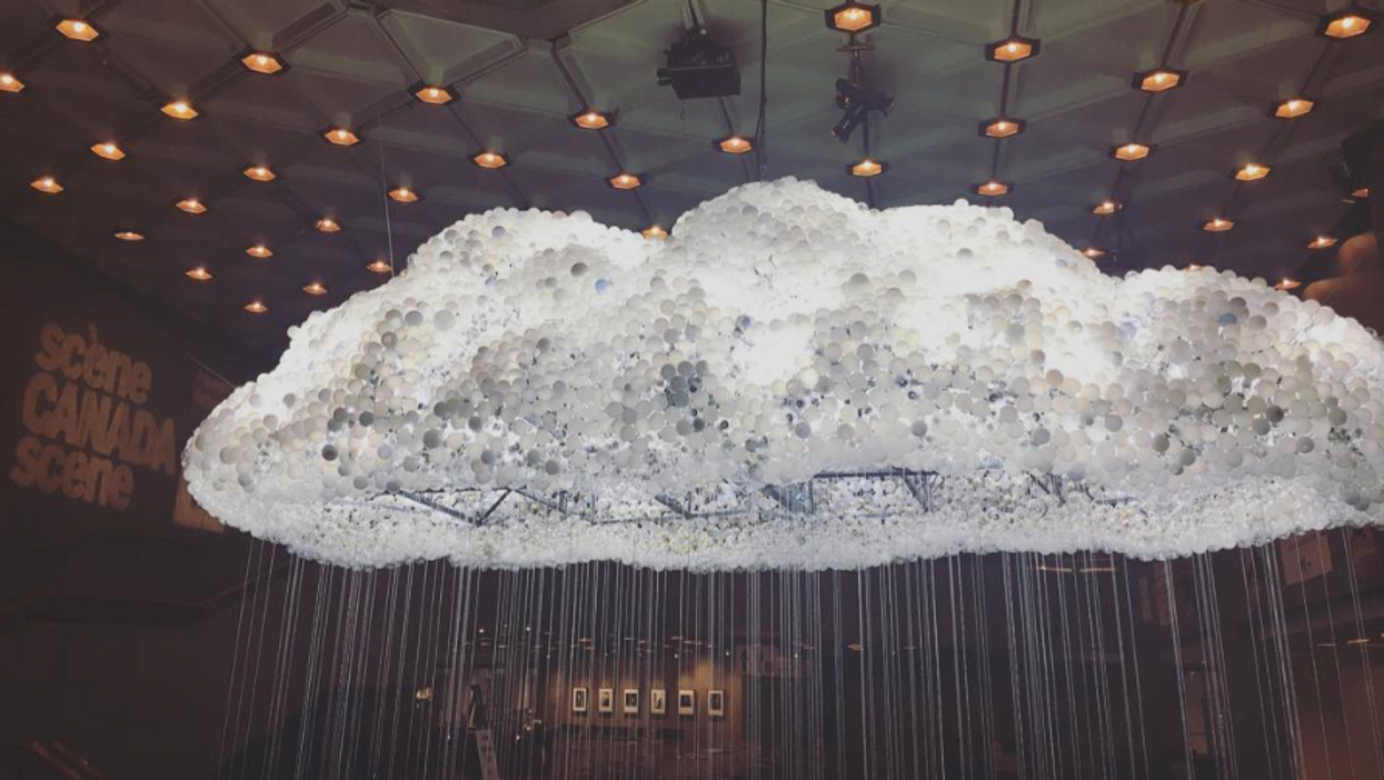 This Unreal Cloud Art Installation Is In Ottawa And You Won't Believe What It's Made Out Of