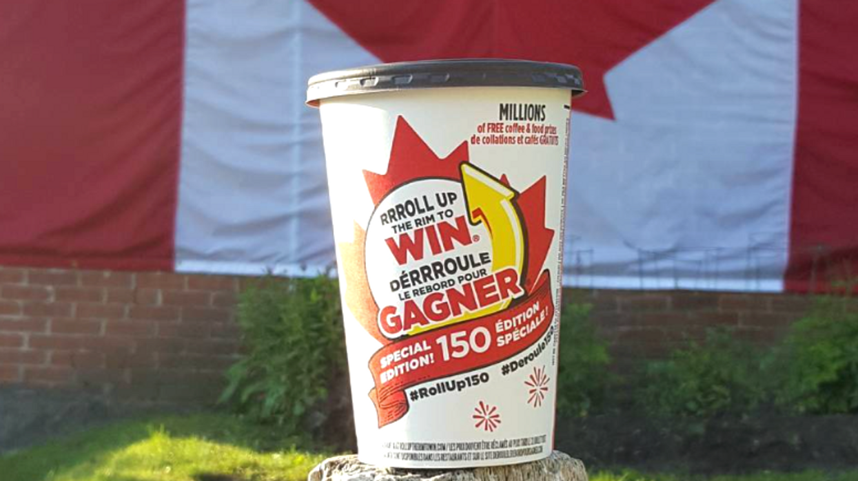 Roll Up The Rim Is Back In Canada
