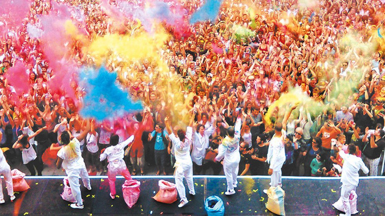 Un immense party multicolore débarque à Montréal cet été, et tu dois y aller!