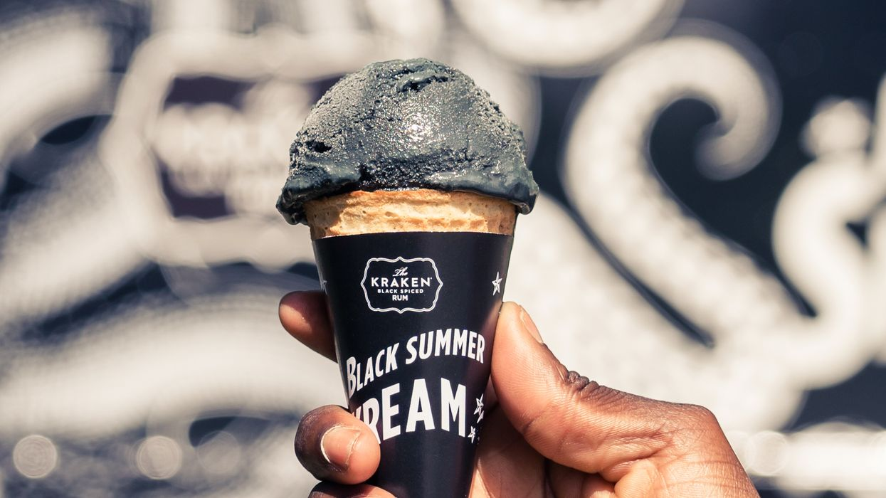 You Can Now Get Black Ice Cream In Vancouver