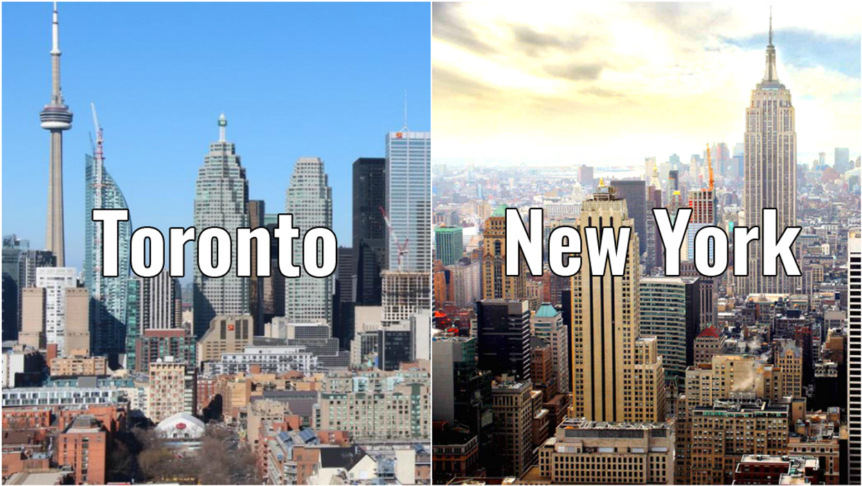 This Is How Much Cheaper It Is To Live In Toronto Compared To New York City