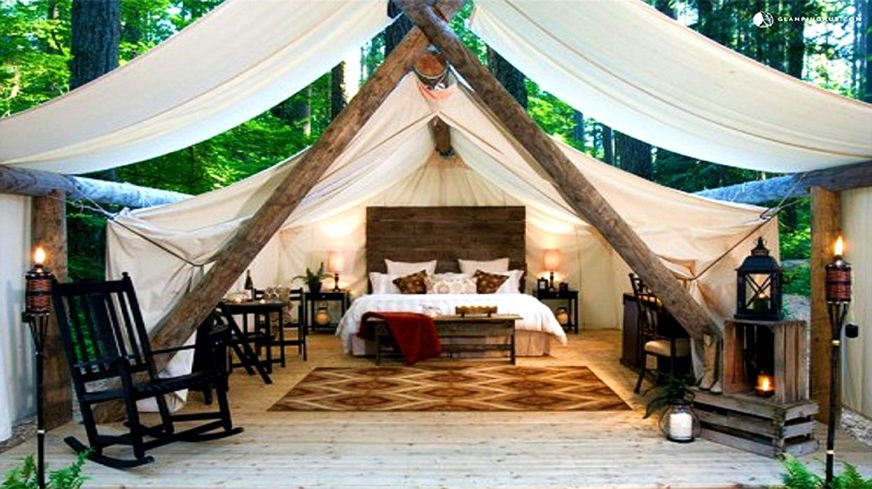 These Glamorous Tents In Ontario Will Turn Anybody Into A Camping Lover