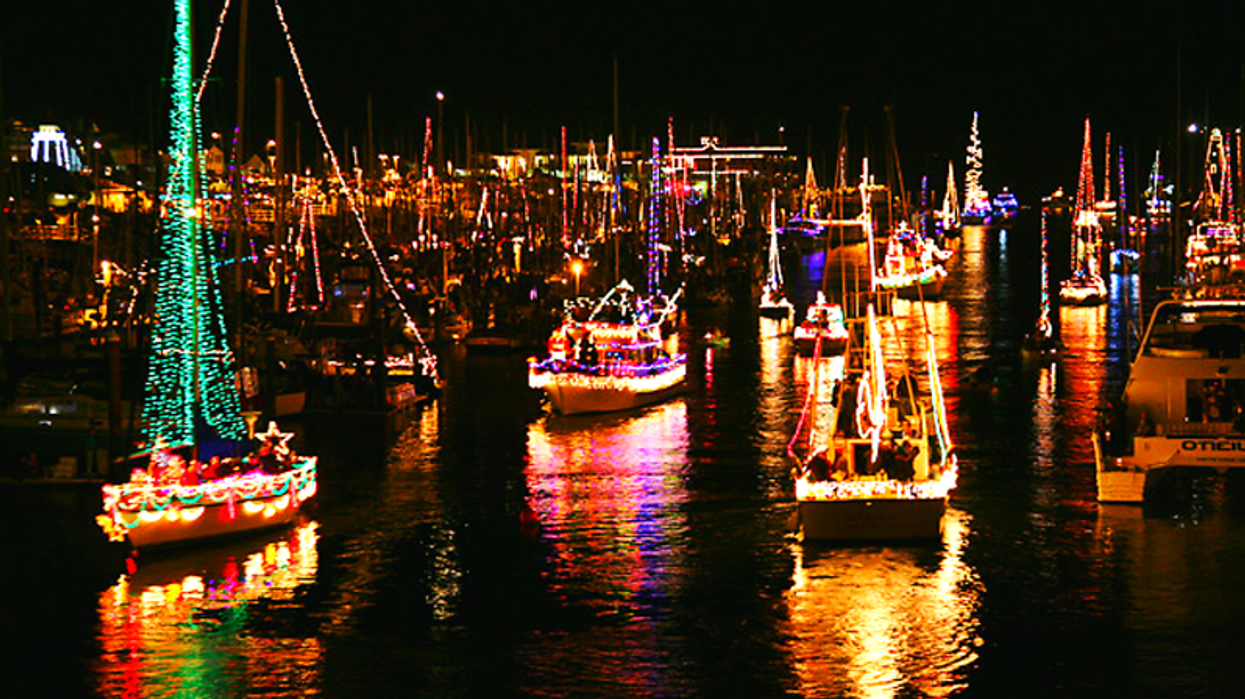 """This """"River Of Lights"""" In Ontario Makes It Feel Like Christmas In August"""