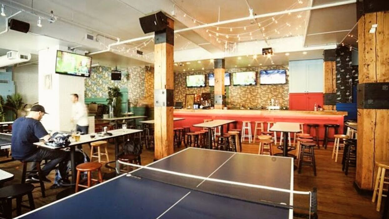 You Can Now Play Ping Pong At This New Vancouver Bar