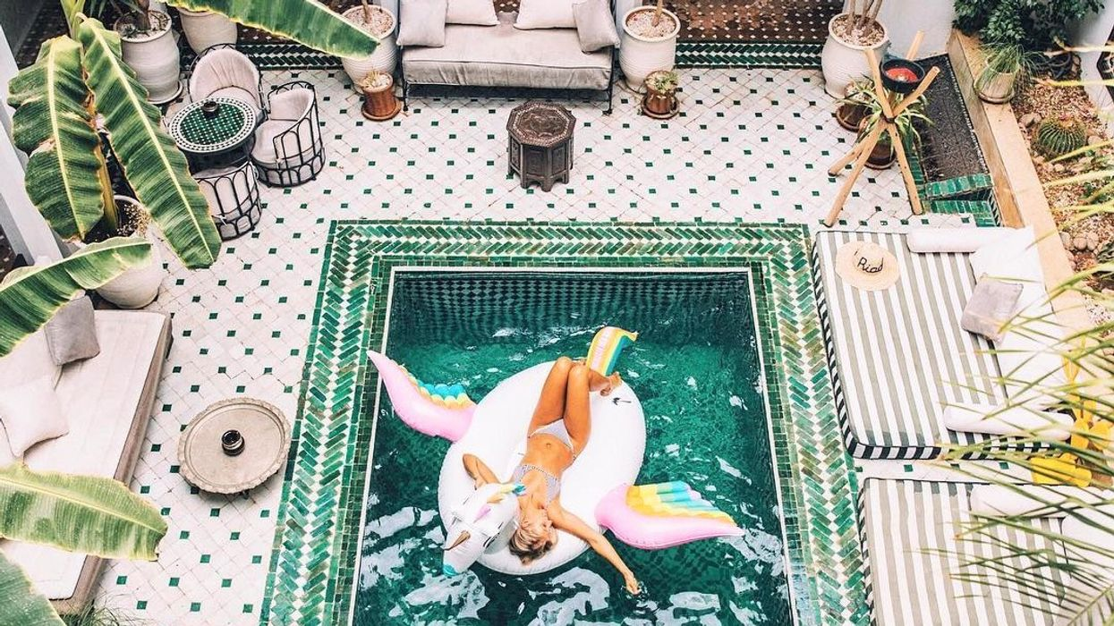 Here Is That Beautiful Hotel Everyone Instagrams In Morocco