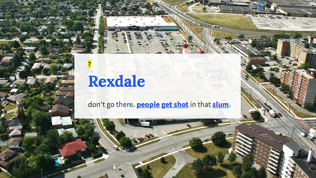 Toronto's Rexdale Has Definitions In Urban Dictionary And They're Pretty Ratchet