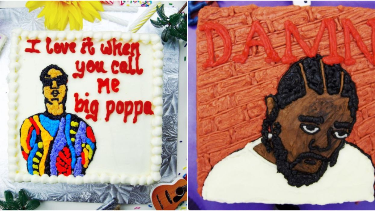 This Instagram Account From Toronto Puts Your Favourite Rappers On Cake