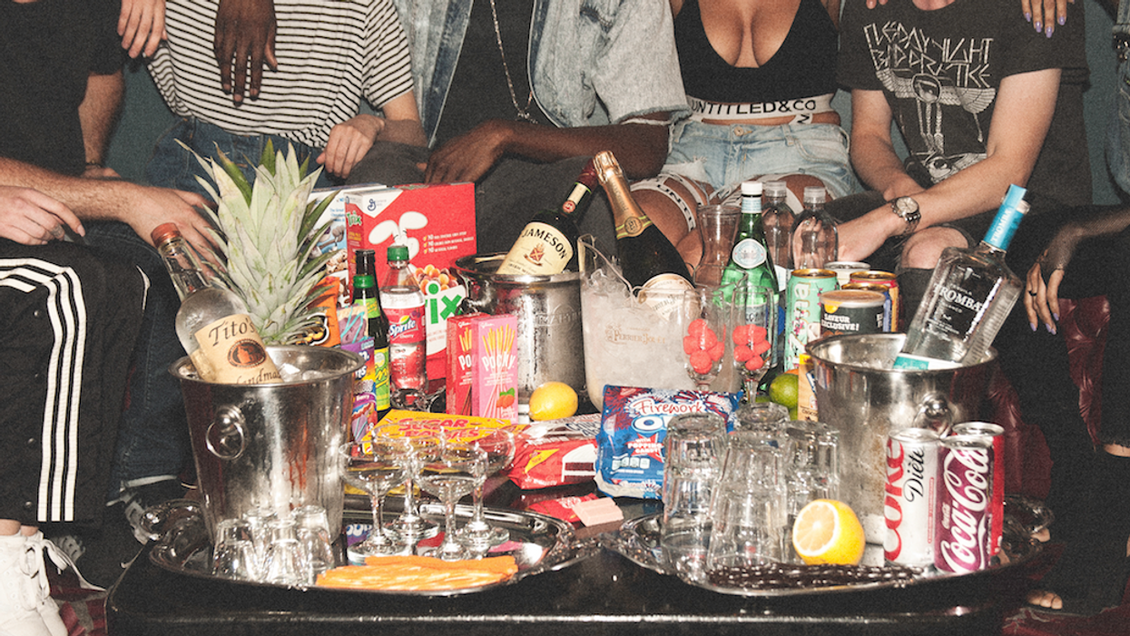 This Toronto Bar Is Changing The Bottle Service Game With Unreal Snacks & Bottles