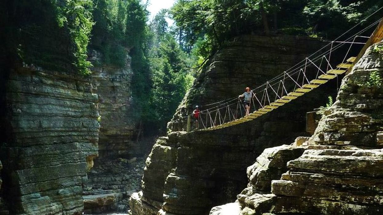 This Incredible Canyon Just Across The Border From Ontario Is Worth The Road Trip