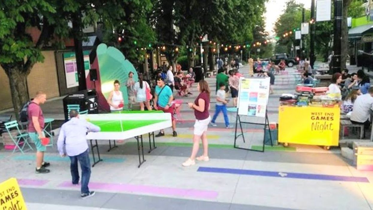 This Street In Vancouver Will Be Closed Off For A Massive Games Night And It's Free